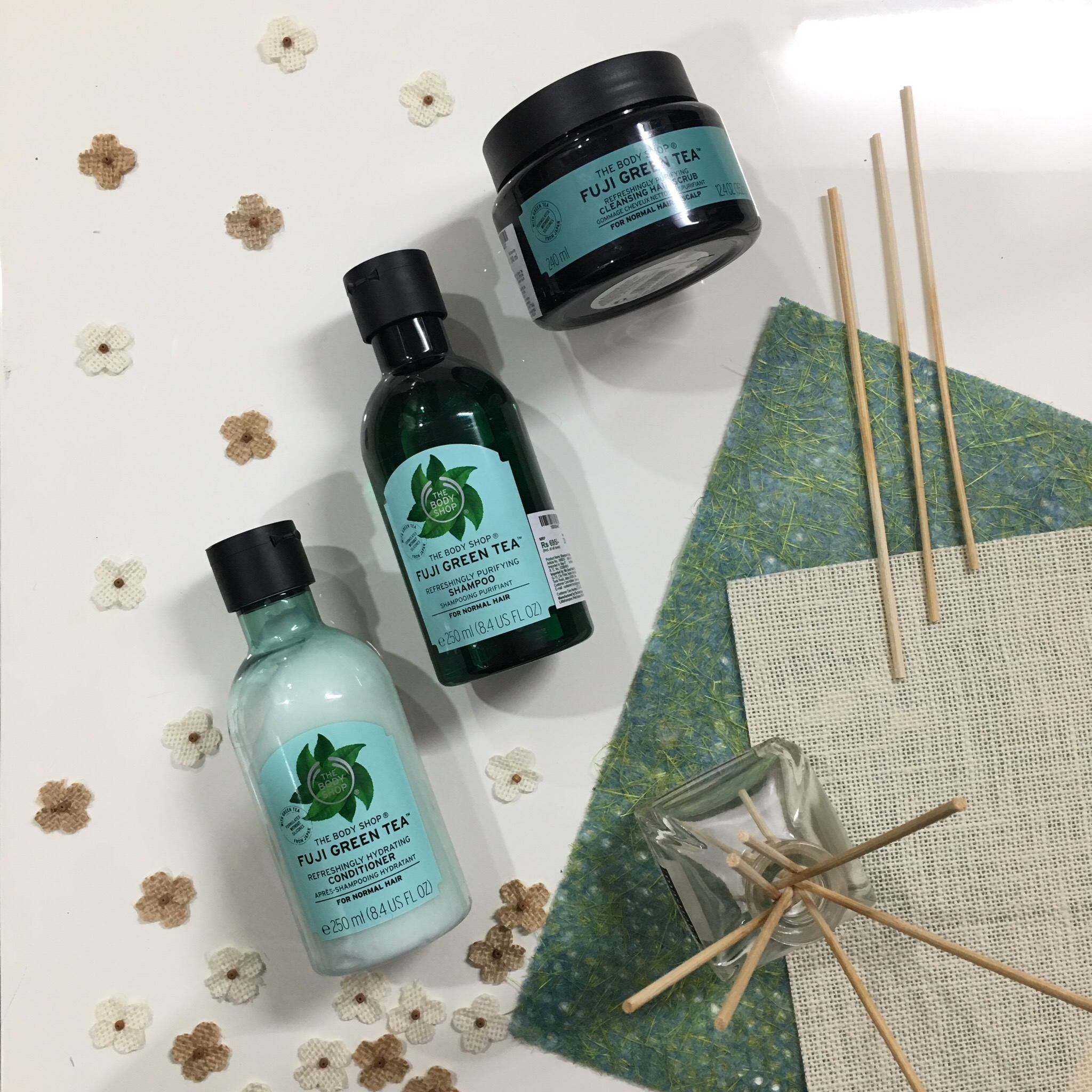 Product Review | The Body Shop Spa Ritual & Fuji Haircare